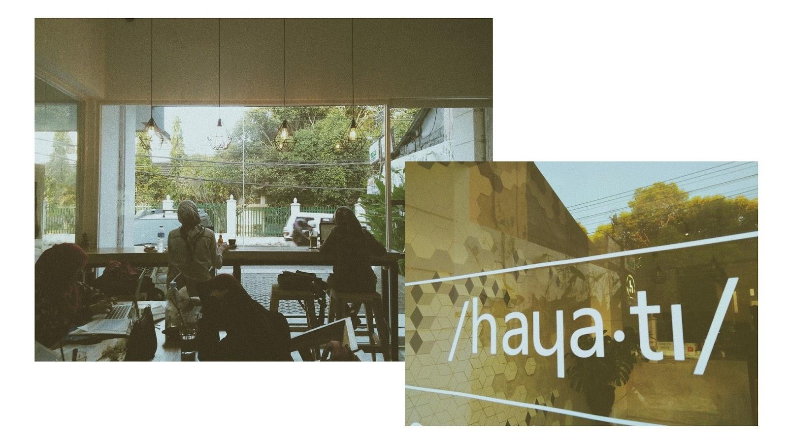 Hayati Specialty Coffee Jogja : Bang, Hayati Lelah Bang!