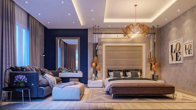 Thạch Bàn Lakeside thiết kế phòng ngủ phong thủy