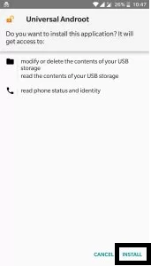 Install Universal Androot APK
