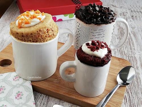 Mug Cake: Tres recetas diferentes para hacer bizcocho en taza