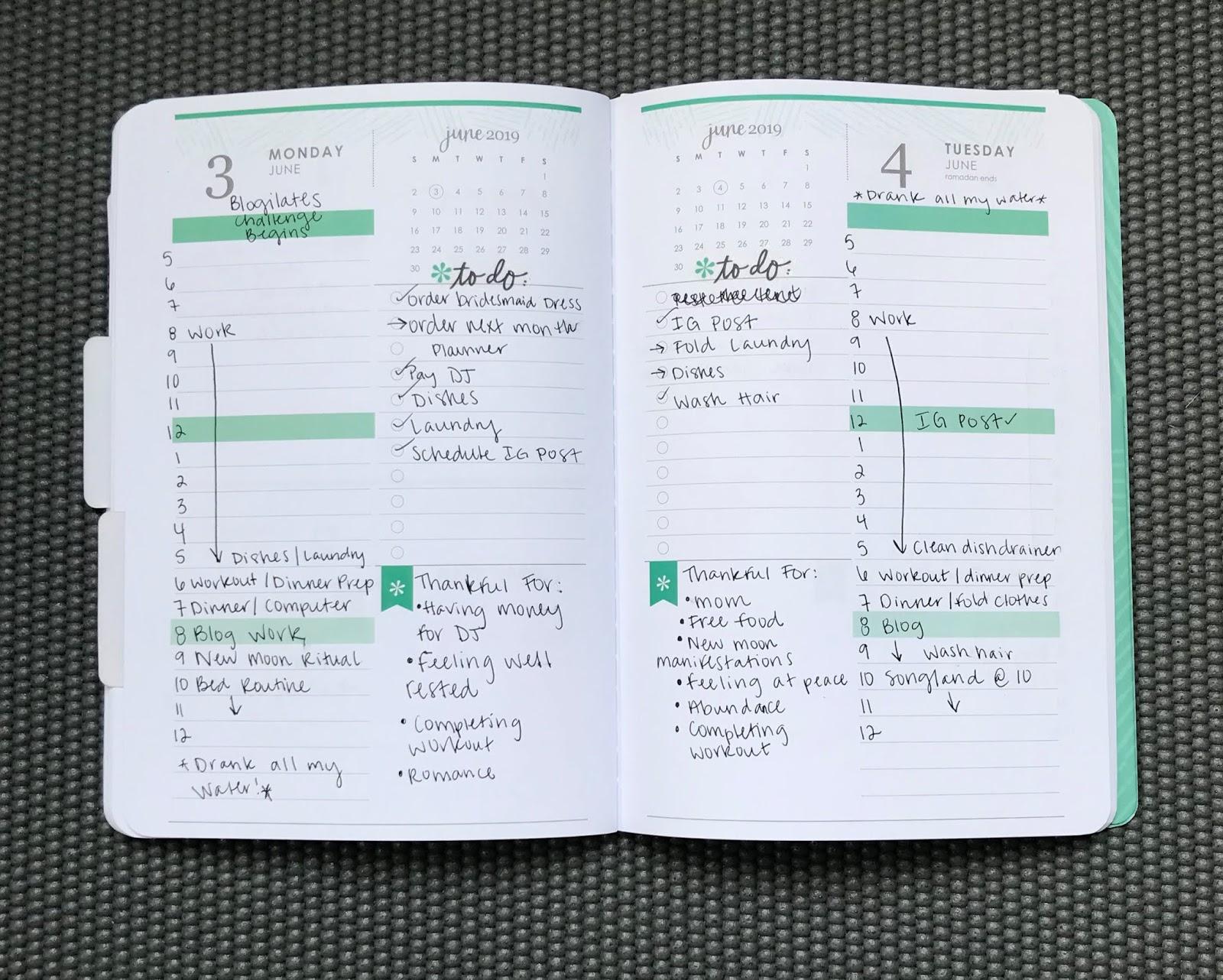 Happy Planner Erin Condren Agenda Calendar Meal Prep Planner Sticker