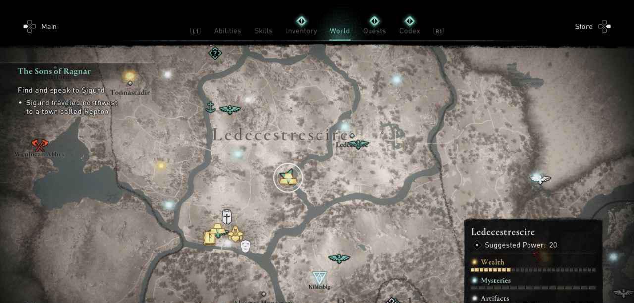 Ingot 17 Map