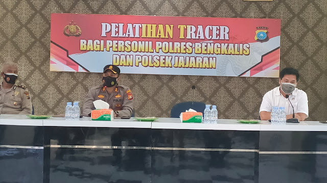 Polres Bengkalis Buka Pelatihan Tracer Bagi Personil dan Jajaran Polri