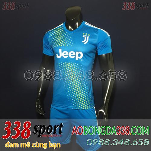 Áo Juventus Xanh 2019 Training 6
