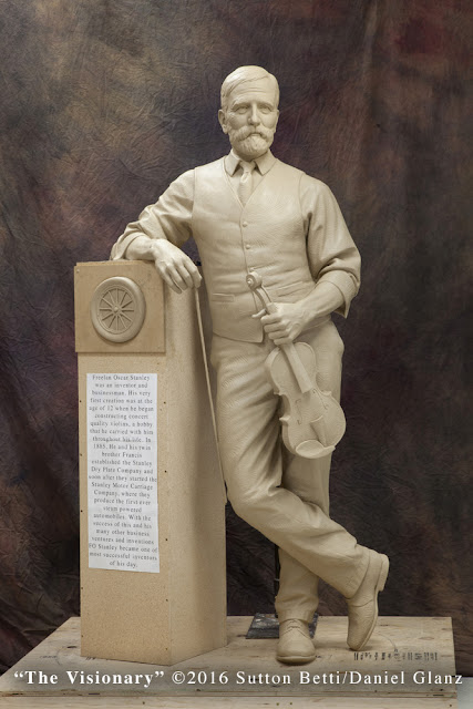 Freelan Oscar Stanley monument
