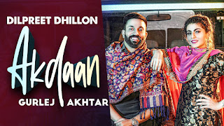 Akdaan Lyrics Meaning in Hindi Translation (हिंदी) - Dilpreet Dhillon