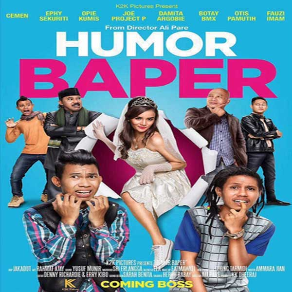 Humor Baper, Film Humor Baper, Humor Baper Movie, Humor Baper Sinopsis, Humor Baper Trailer, Humor Baper review, Download Poster Film Humor Baper 2016