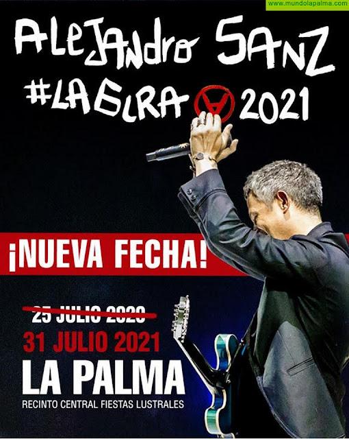 Alejandro Sanz actuará el día 31 de julio en La Palma de la mano de Isla Bonita Love Festival