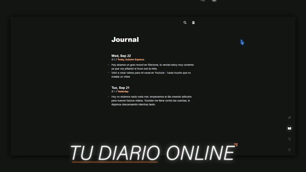 Tu DIARIO Online Minimalista | Journalistic