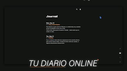 Tu DIARIO Online Minimalista   Journalistic
