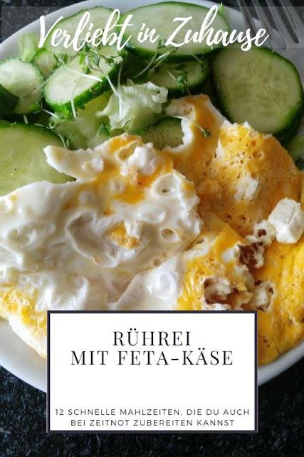 Rührei mit Feta-Käse Rezept -12 schnelle Mahlzeiten auch bei Zeitnot