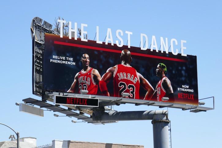 Last Dance Netflix docuseries billboard