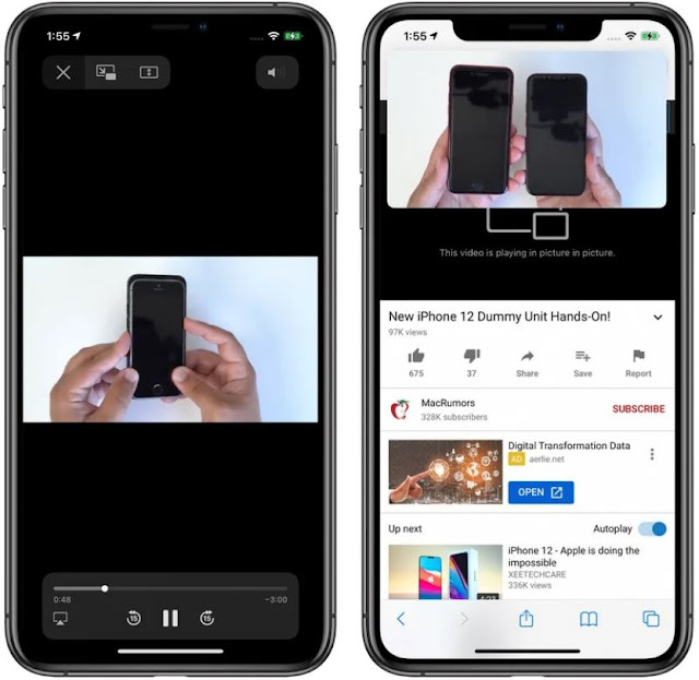 iOS 14-How to Use Picture in Picture Mode on iPhone