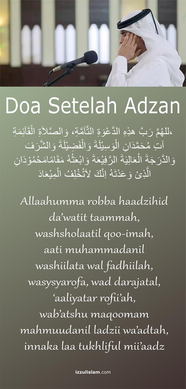 doa-setelah-adzan-dan-iqomah-keutamaan