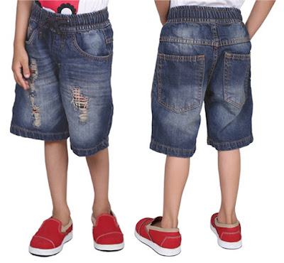 celana jeans, celana jeans pendek anak
