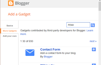 Adding Twitter Feed Gadget To Blogger
