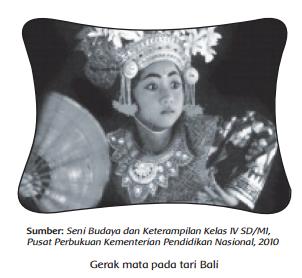 Gerak mata pada tari Bali www.simplenews.me