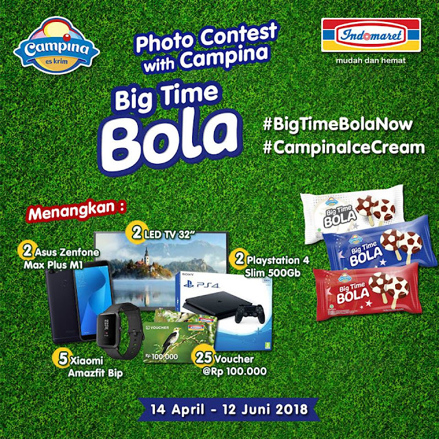 Photo Contest with campina big time bola