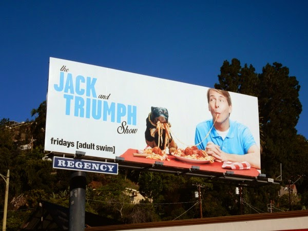 Jack and Triumph Show series premiere billboard