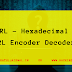 hURL – hexadecimal and URL encoder decoder