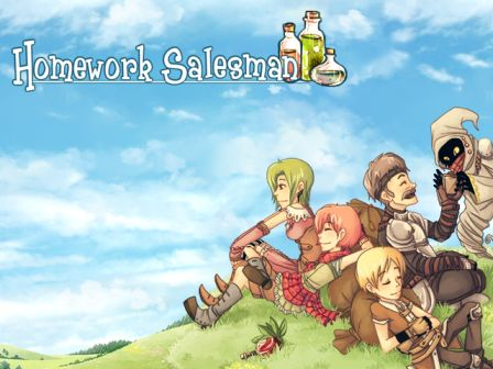 Game Simulation RPG PC Homework Salesman