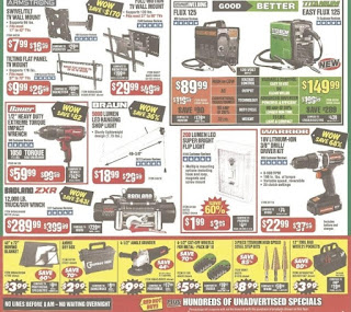 Black Friday Ad Harbor Freight Tools 2019 discount