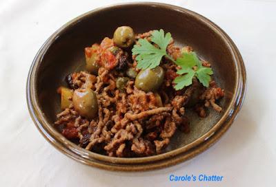 Carole's Chatter: Picadillo