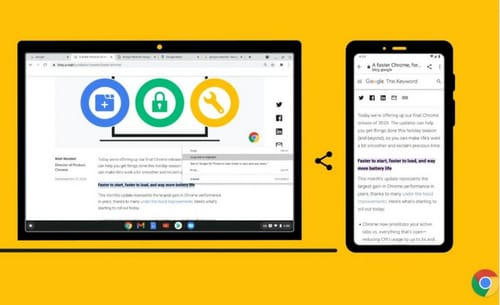 Chrome browser improves work efficiency with new functions