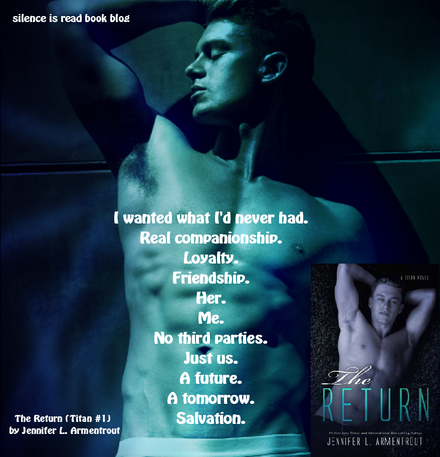 REVIEW: The Return (Titan #1) by Jennifer L. Armentrout - Silence is Read