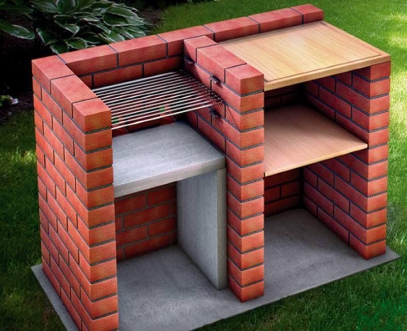 Asadores De Ladrillo 20 Ideas De Como Hacerlos En Tu Jardin Construya Facil Todo Sobre La Construccion