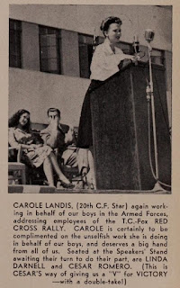 Carole Landis Cesar Romero