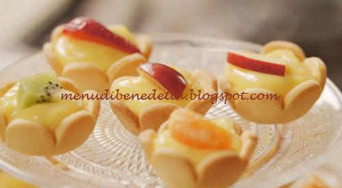 Ricetta Pasta Frolla Di Benedetta.Tartellette Mignon Ripiene Ricetta Benedetta Rossi Da Fatto In Casa Per Voi