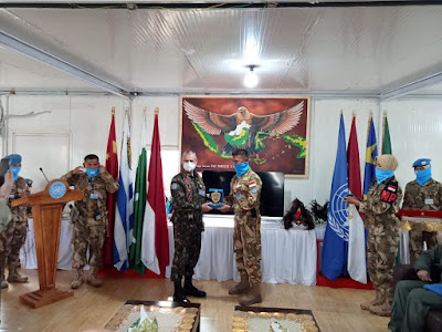 Force Commander : Bangga Terhadap Pasukan Indonesia