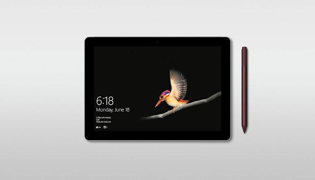 Microsoft Surface Go Stunning PixelSense Display