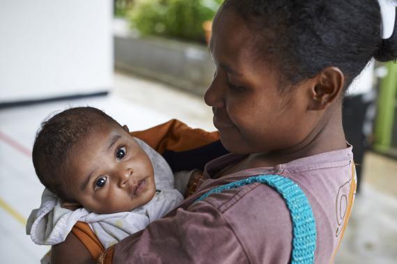 Dukungan Unicef - Bidang Nutrisi