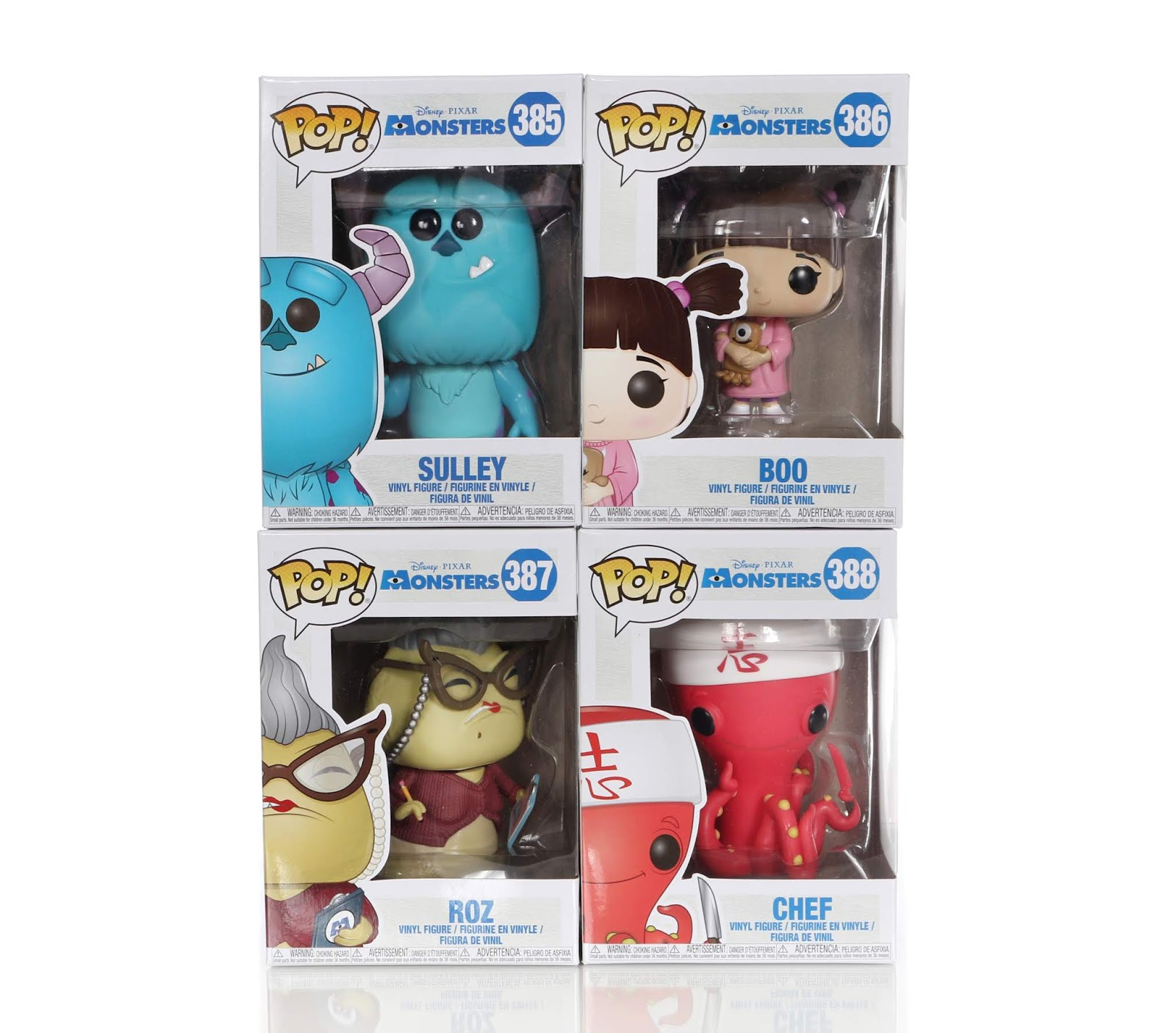 monsters inc 2018 funko pop box