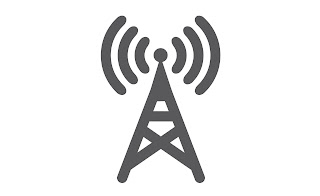 antenna symbolizing radio transmission