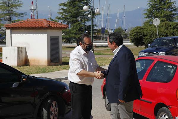 Στυλίδα: Επίσκεψη του Υπουργού Οικονομικών κ. Χρήστου Σταϊκούρα, στο Λιμενικό Ταμείο Φθιώτιδας