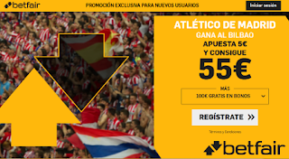 betfair supercuota 11 Atletico gana Athletic 26-10-2019