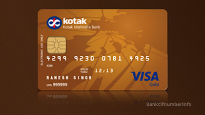 Block Kotak Debit Card by SMS