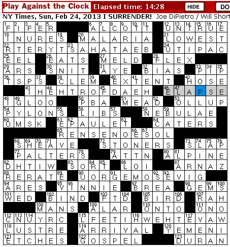 highly rated bond crossword