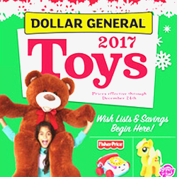 Dollar General Toy Book 2017 Has Arrived