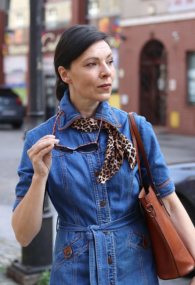 szmizjerka jeansowa jakie dodatki