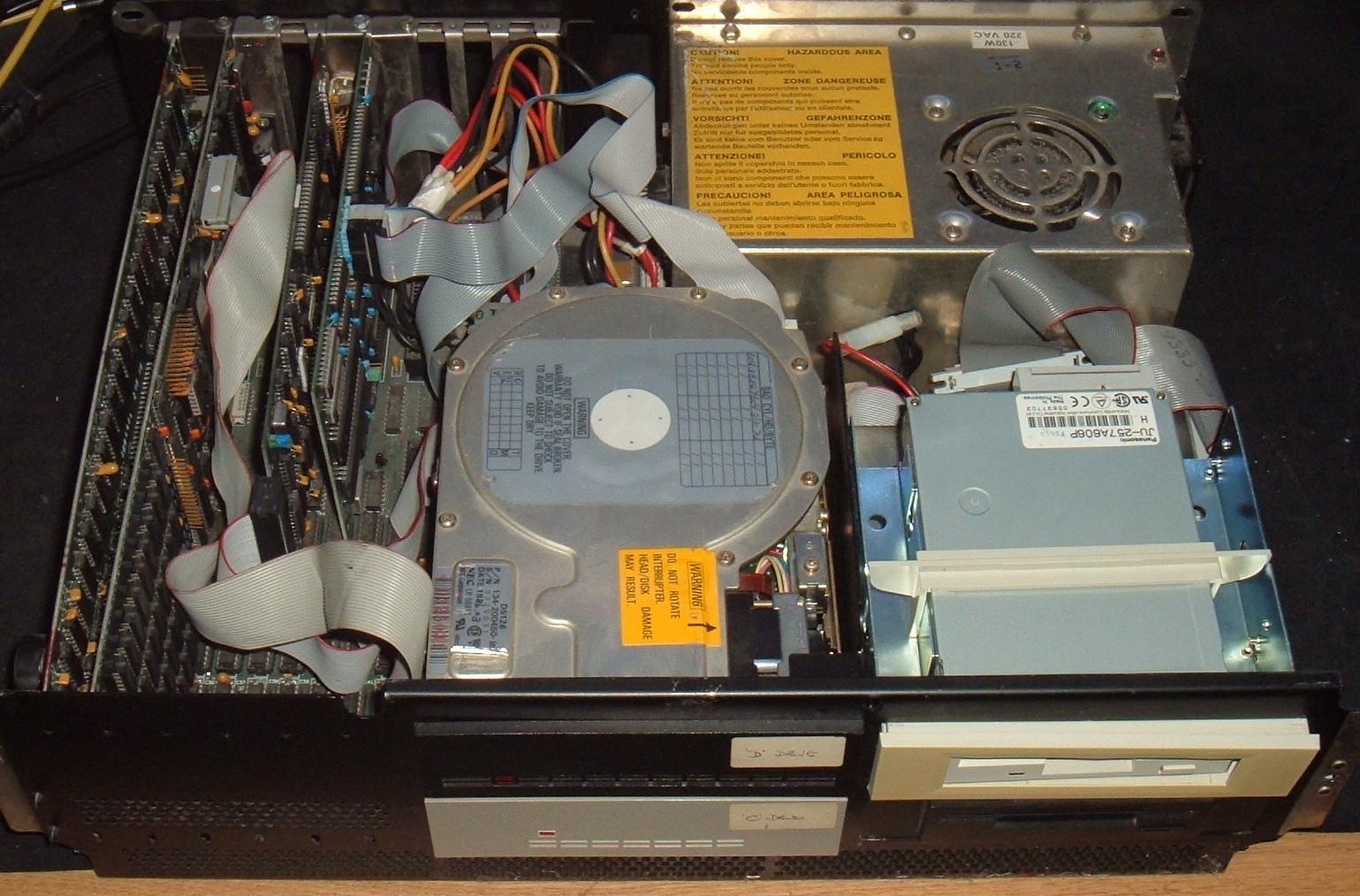 Tynemouth Software: Vintage IBM 5160 XT Teardown - Part 1