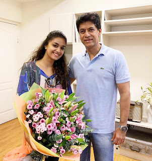 Keerthy Suresh with Cute and Awesome Lovely Smile with G Venkat Ram