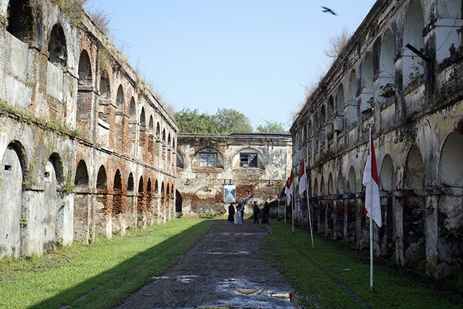 Bangunan Utama Fort Willem I Ambarawa