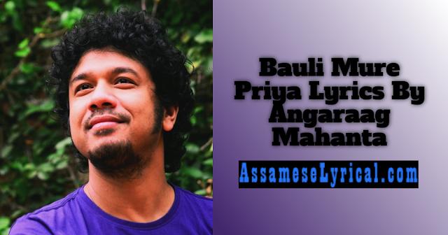 Bauli Mure Priya Lyrics