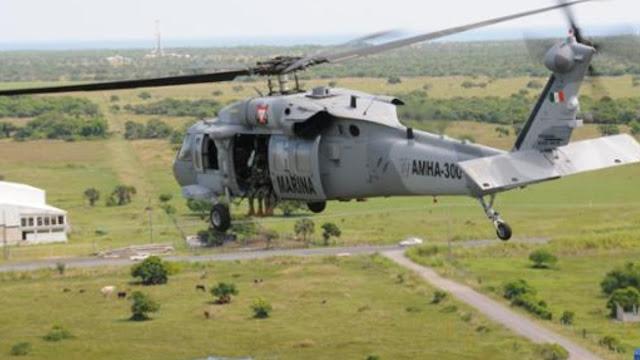 Si eres Halcón a ver vuela, Marinos arrojaban a Sicarios halcones desde Helicópteros