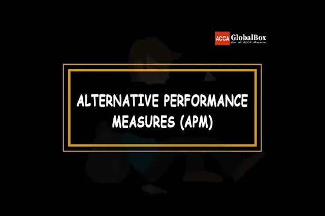 Alternative Performance Measures (APMs)