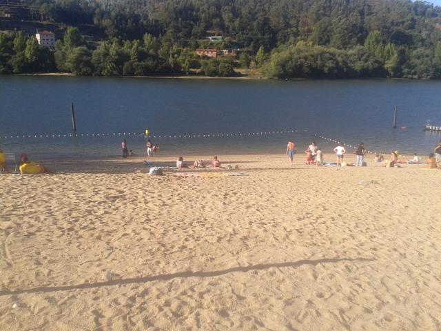 Zona de Banhos no Rio Douro